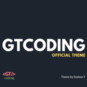 GTCoding Custom Theme Source Code